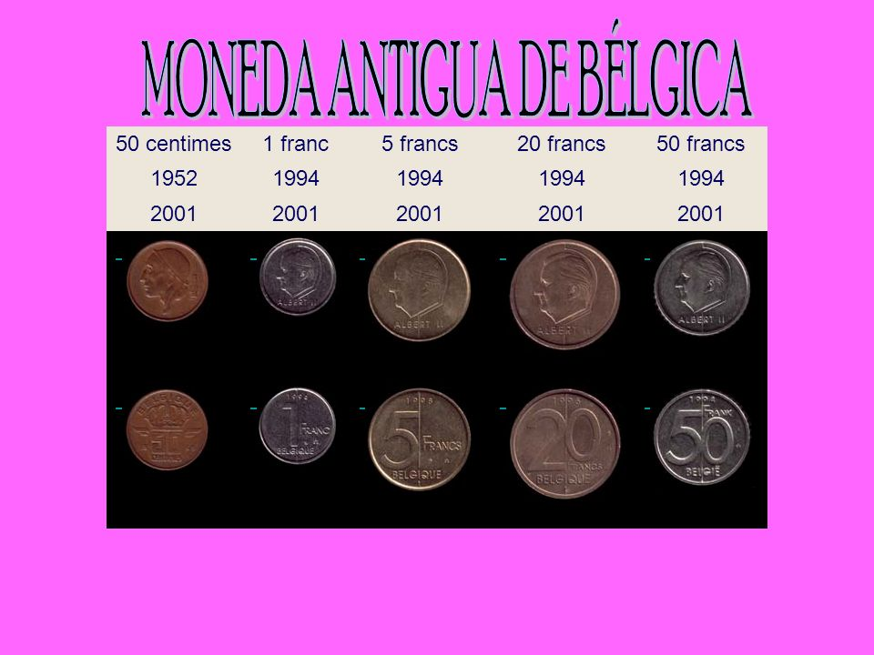 MONEDA ANTIGUA DE BÉLGICA