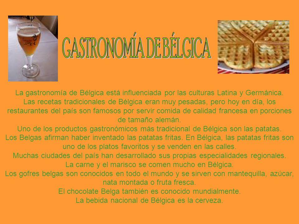 GASTRONOMÍA DE BÉLGICA