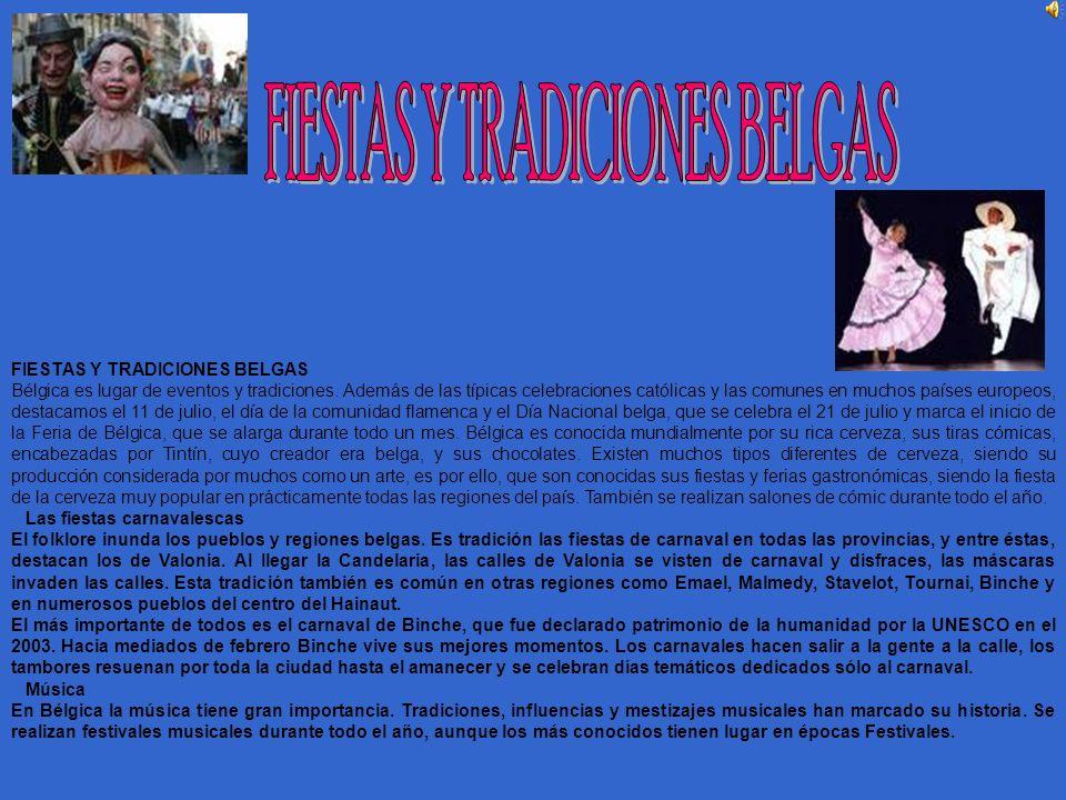 FIESTAS Y TRADICIONES BELGAS