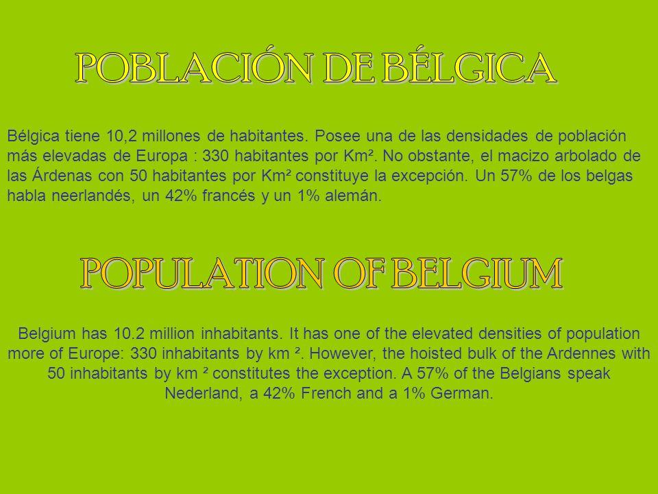 POBLACIÓN DE BÉLGICA POPULATION OF BELGIUM