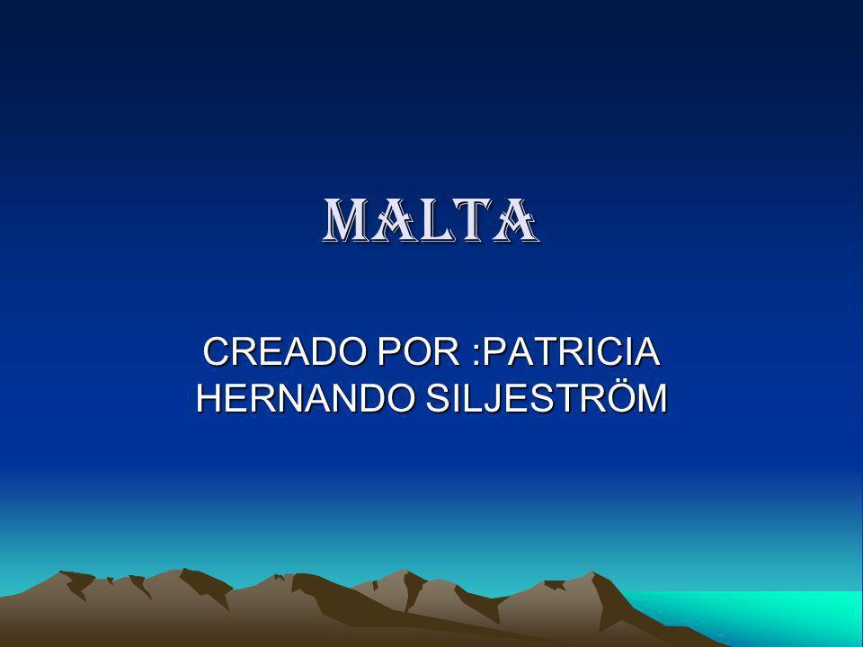 CREADO POR :PATRICIA HERNANDO SILJESTRÖM