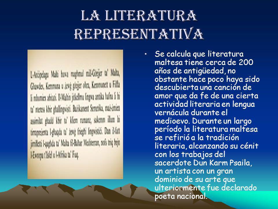 La literatura representativa
