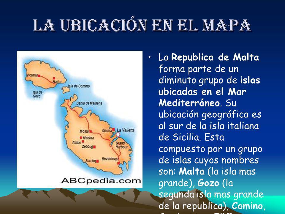 La ubicación en el mapa