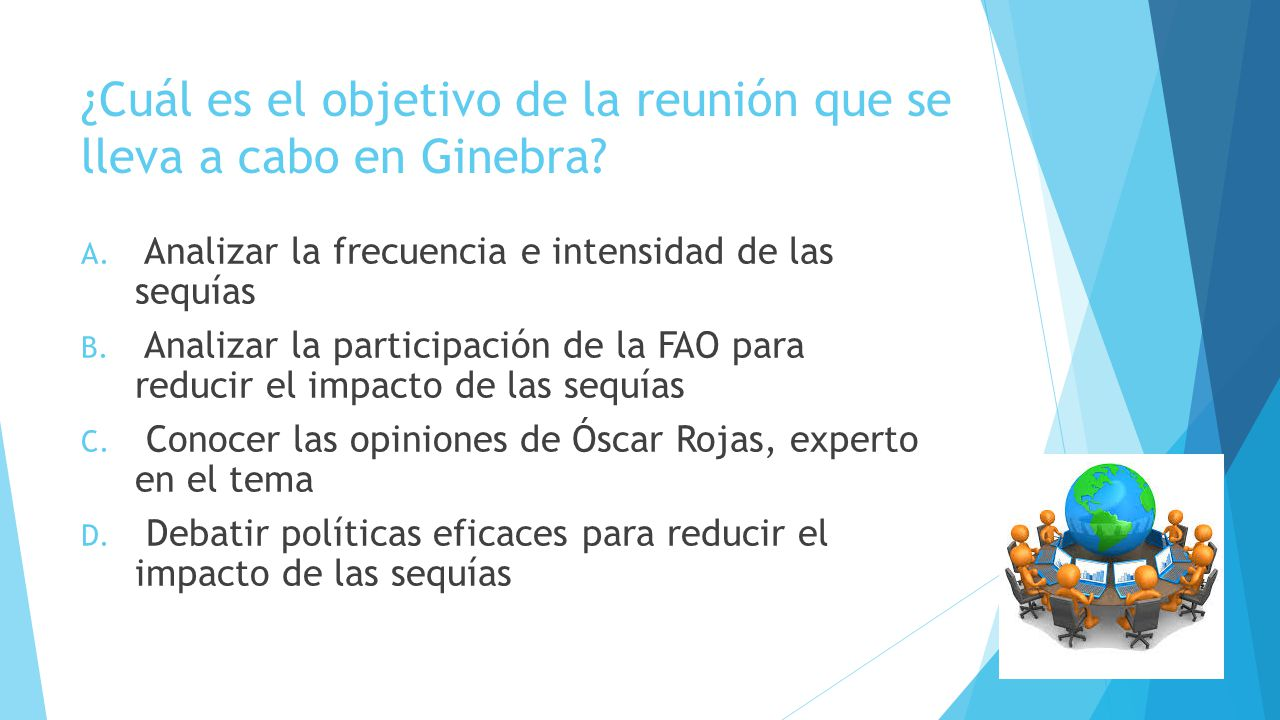 ¿Cuál es el objetivo de la reunión que se lleva a cabo en Ginebra