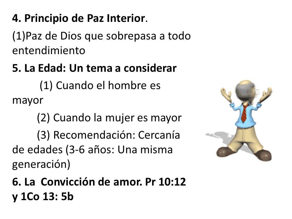 4. Principio de Paz Interior.