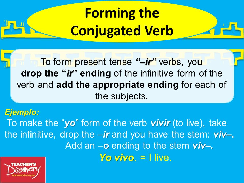 Forming the Conjugated Verb