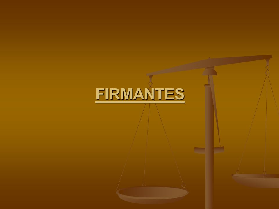 Firmantes