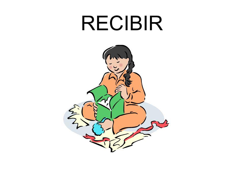 RECIBIR