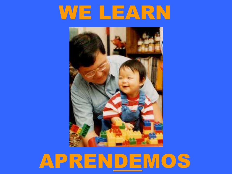 WE LEARN APRENDEMOS