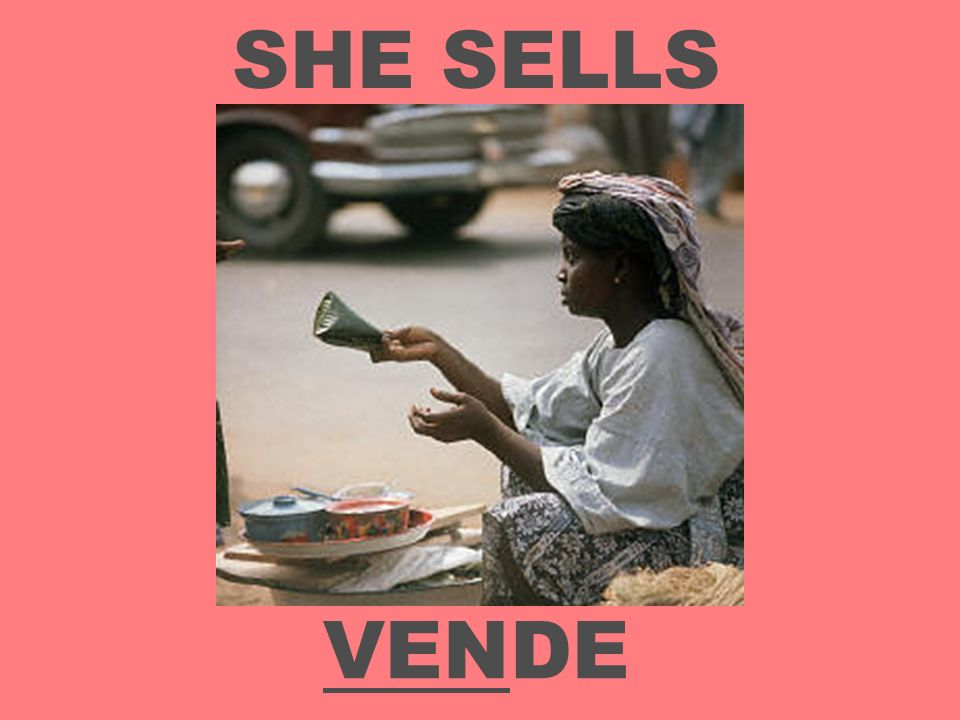 SHE SELLS VENDE