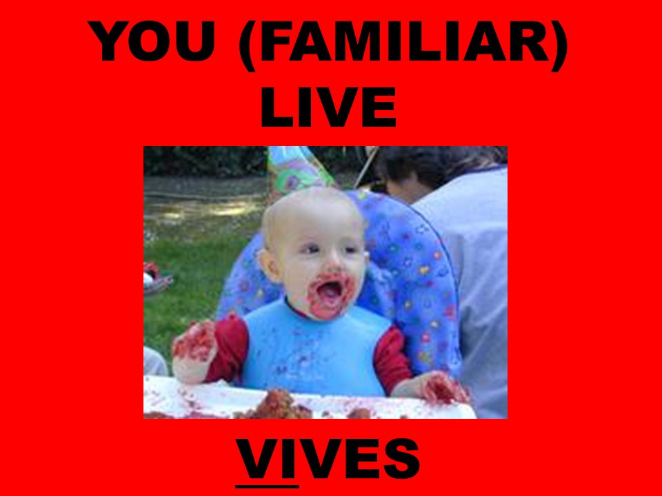 YOU (FAMILIAR) LIVE VIVES