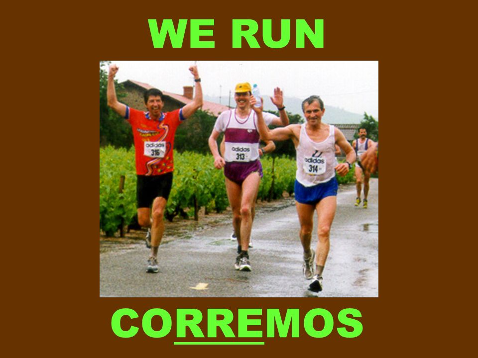 WE RUN CORREMOS
