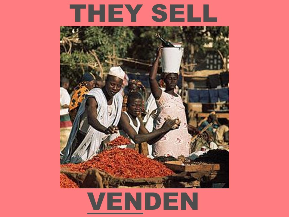 THEY SELL VENDEN