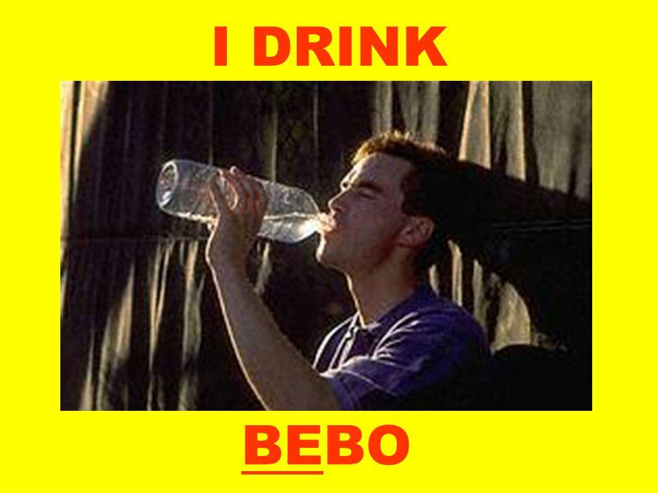 I DRINK BEBO