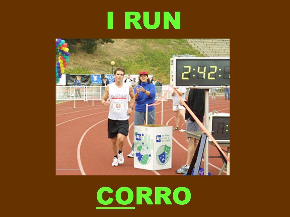 I RUN CORRO