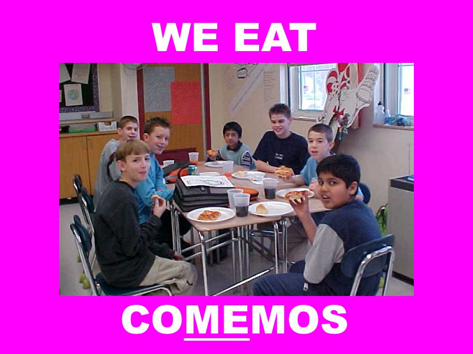 WE EAT COMEMOS