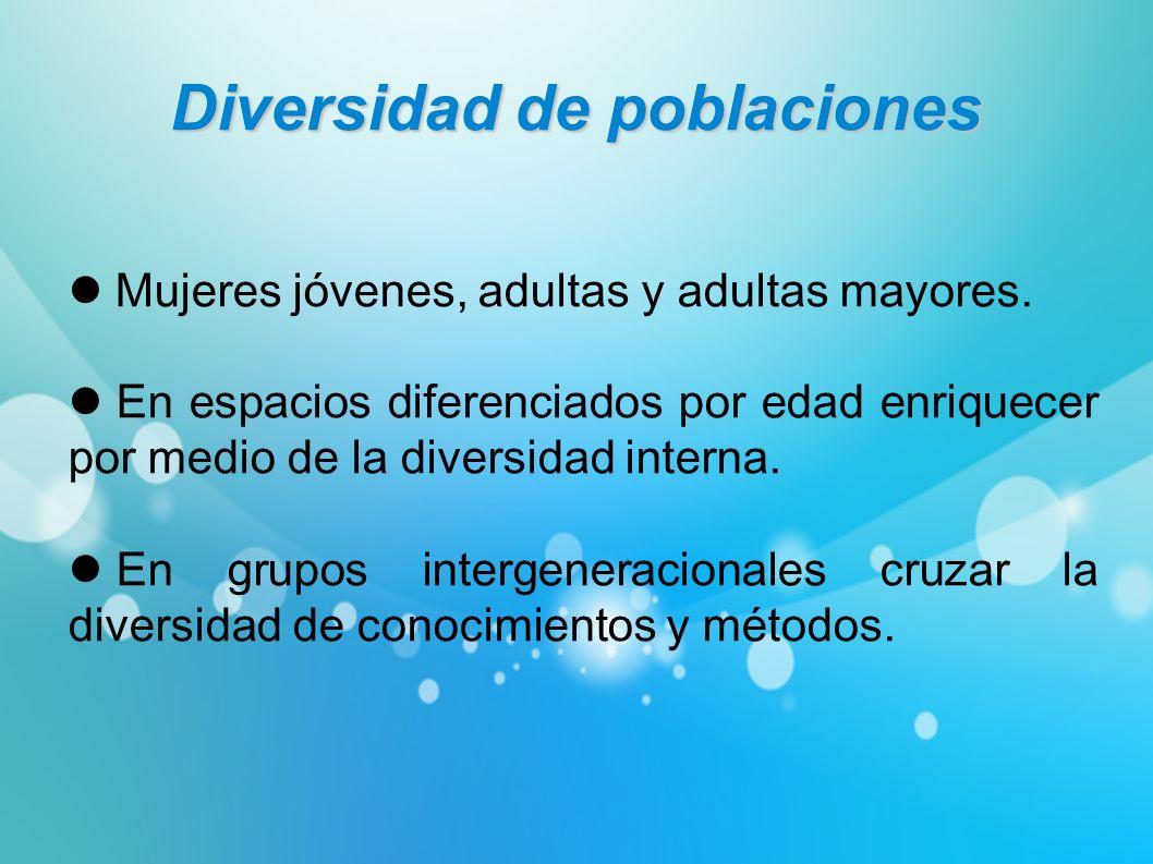 Diversidad de poblaciones