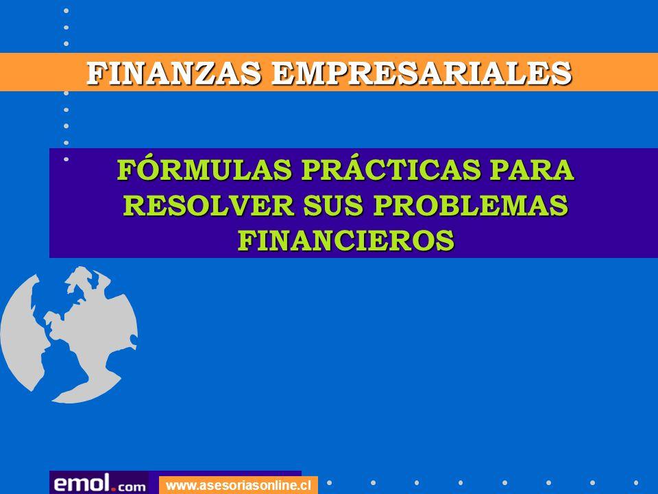 FÓRMULAS PRÁCTICAS PARA RESOLVER SUS PROBLEMAS FINANCIEROS