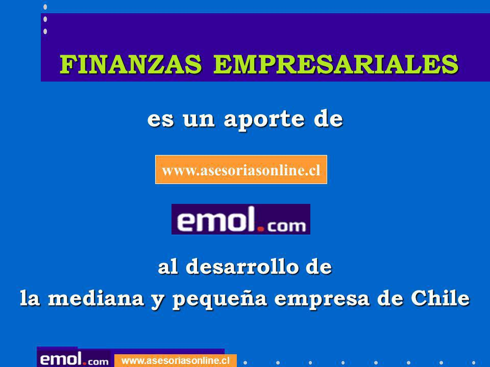 FINANZAS EMPRESARIALES la mediana y pequeña empresa de Chile