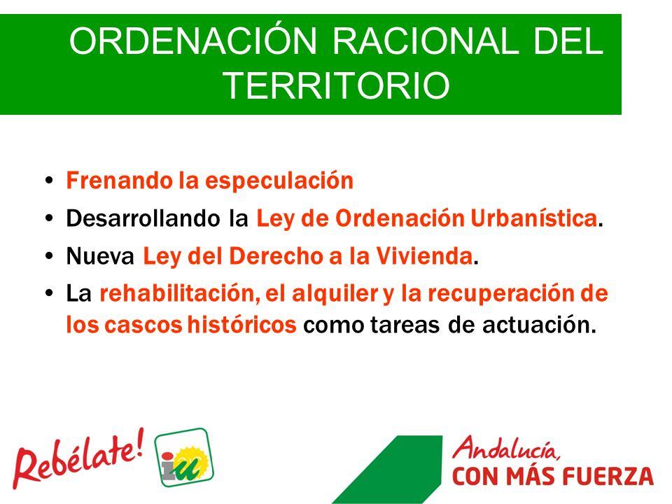 ORDENACIÓN RACIONAL DEL TERRITORIO