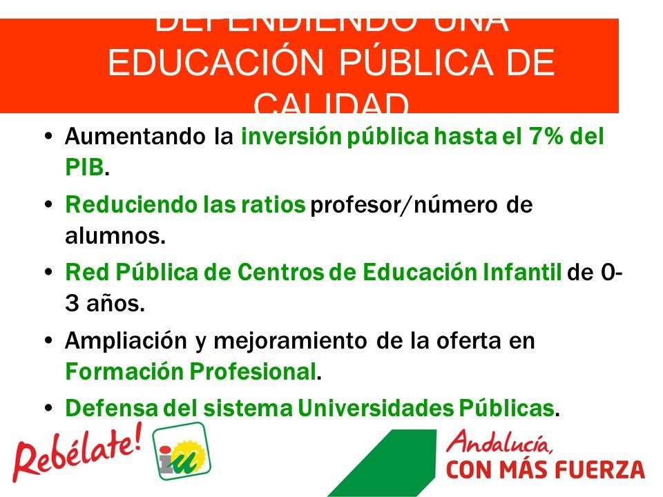 DEFENDIENDO UNA EDUCACIÓN PÚBLICA DE CALIDAD