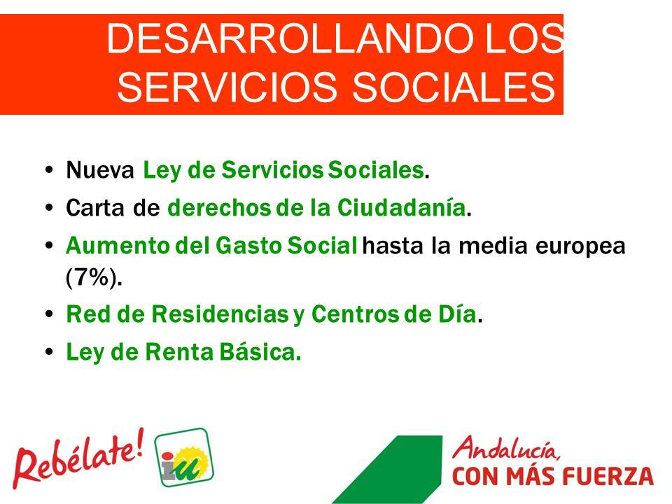 DESARROLLANDO LOS SERVICIOS SOCIALES