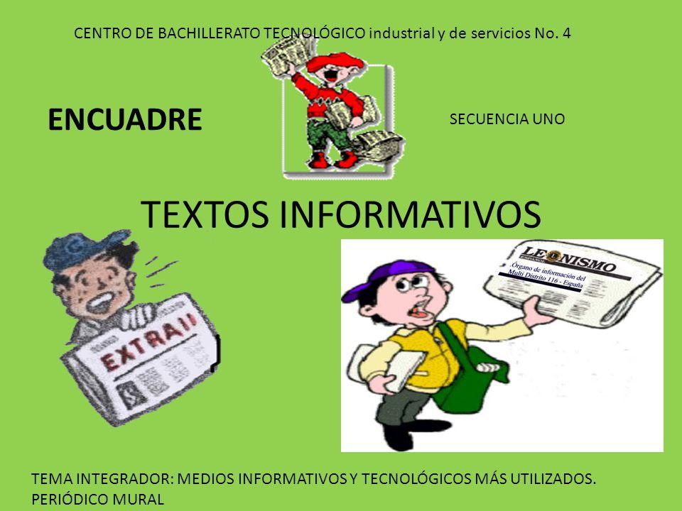 TEXTOS INFORMATIVOS ENCUADRE - ppt video online descargar