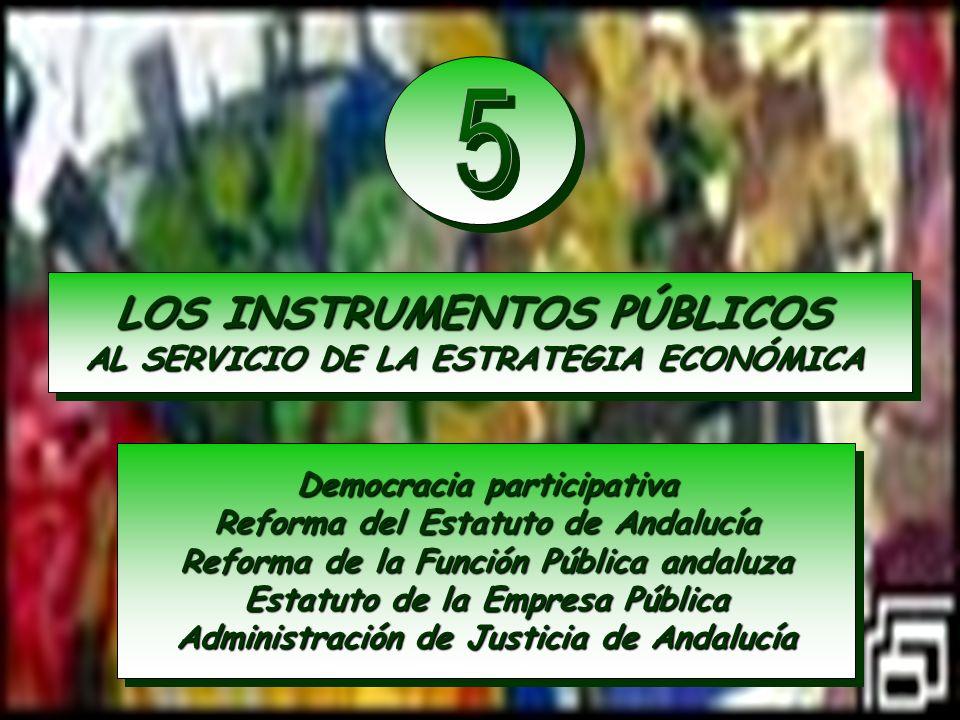 5 LOS INSTRUMENTOS PÚBLICOS AL SERVICIO DE LA ESTRATEGIA ECONÓMICA