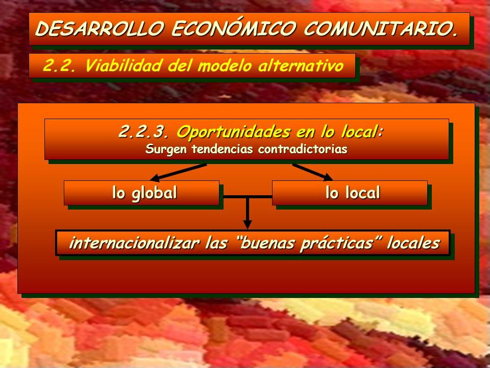 DESARROLLO ECONÓMICO COMUNITARIO.