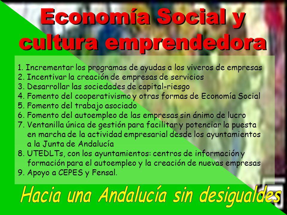 Hacia una Andalucía sin desigualdes