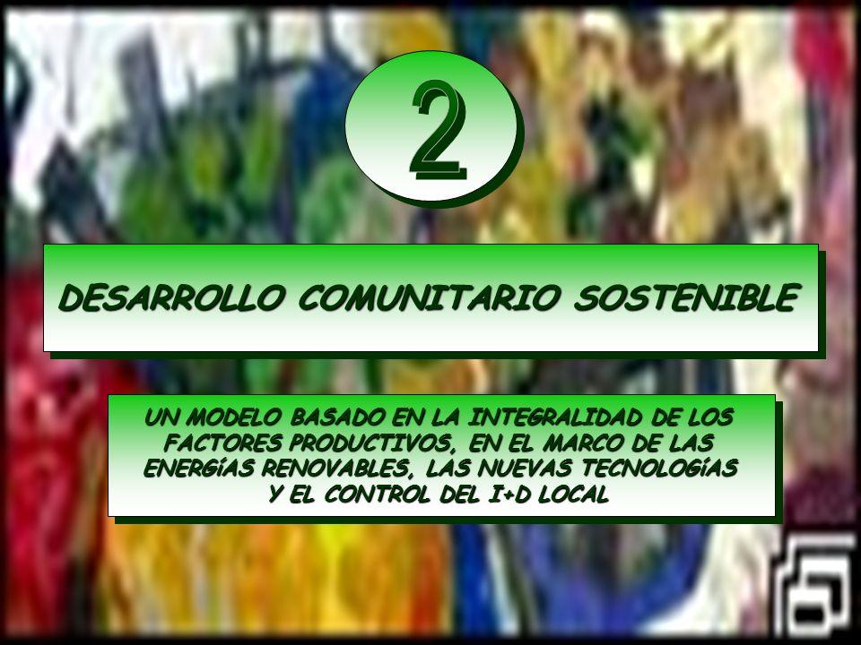 2 DESARROLLO COMUNITARIO SOSTENIBLE