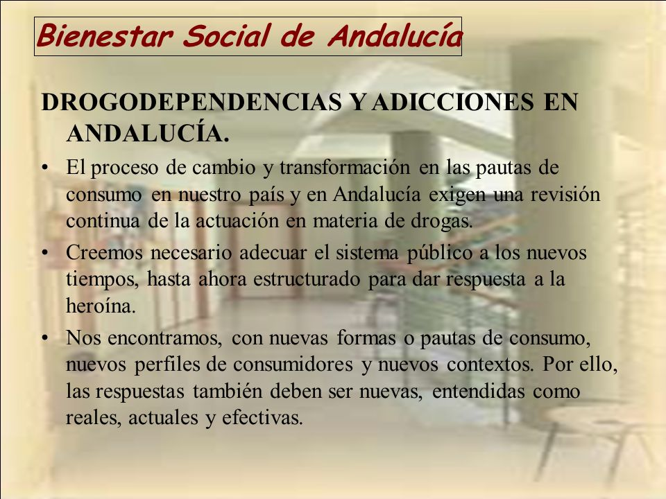 Bienestar Social de Andalucía