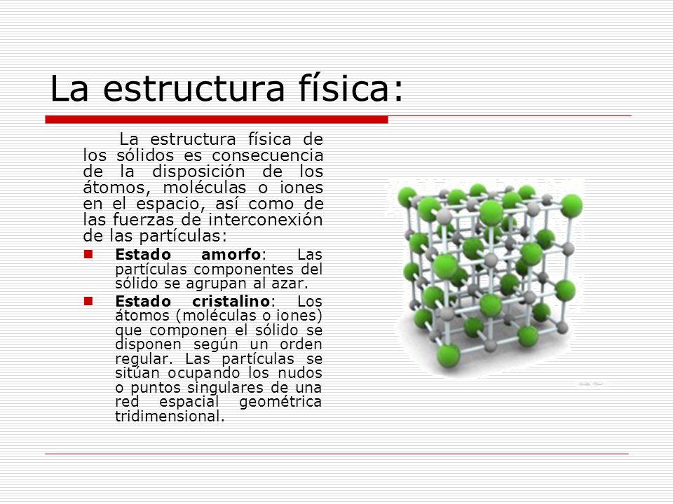 La estructura física: