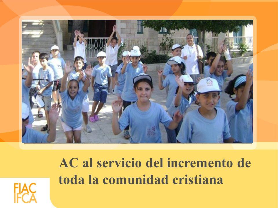 AC al servicio del incremento de toda la comunidad cristiana