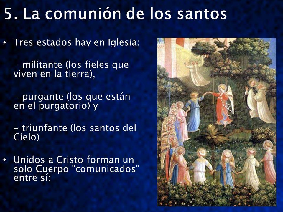 5. La comunión de los santos