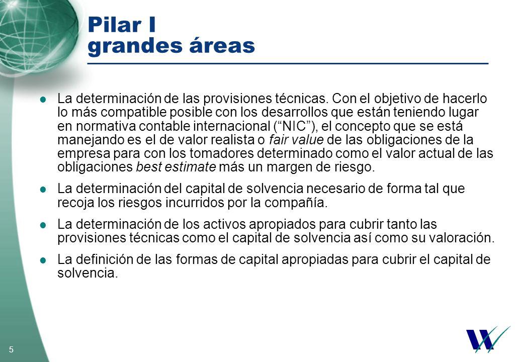 Pilar I grandes áreas