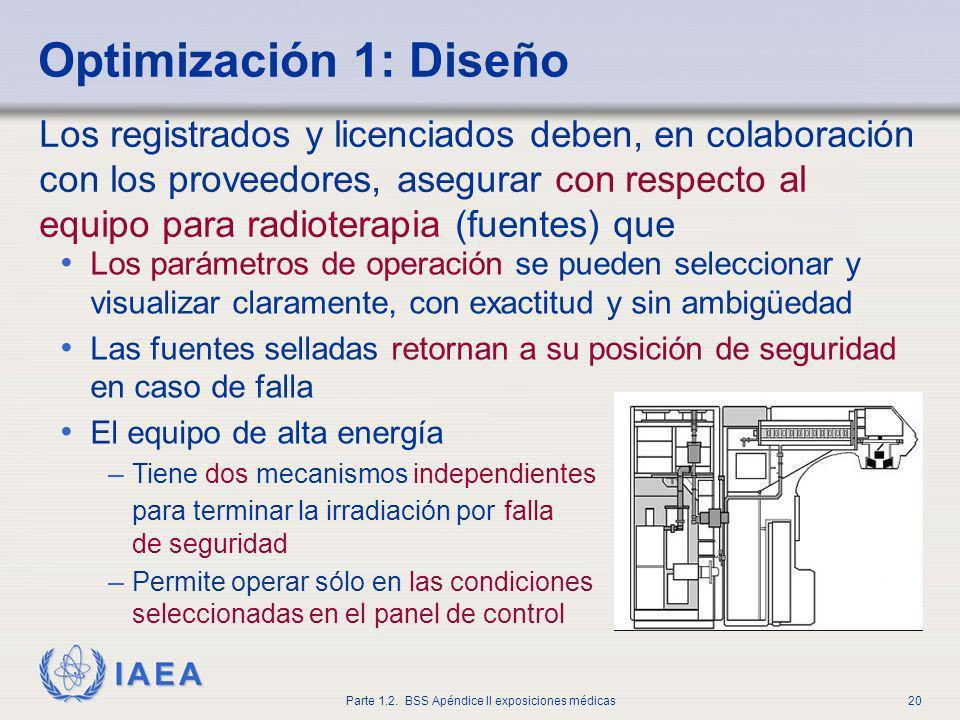 Optimización 1: Diseño
