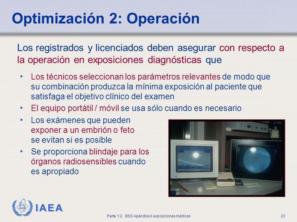 Optimización 2: Operación