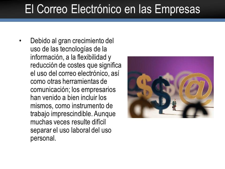 El Correo Electrónico en las Empresas