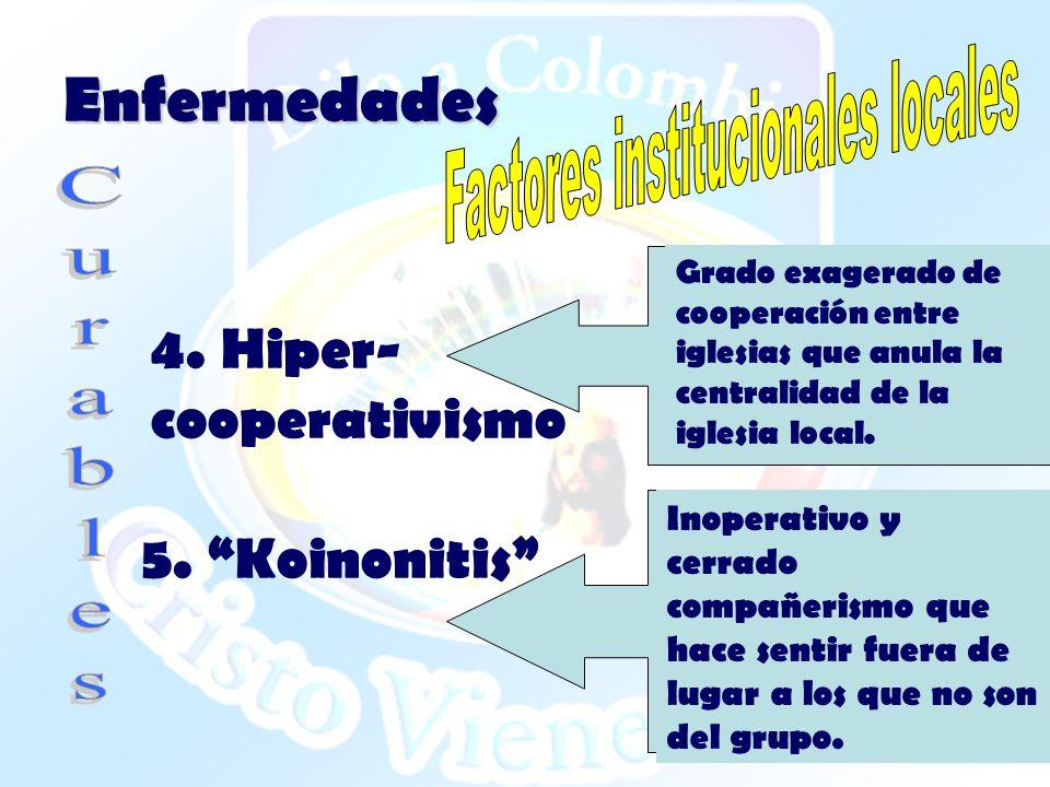Factores institucionales locales