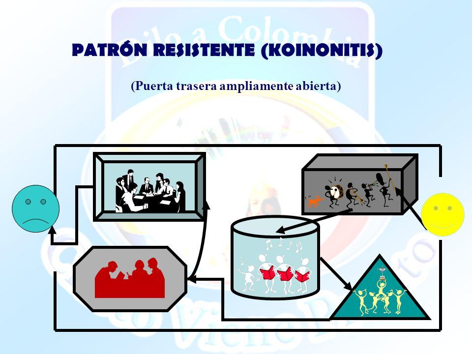 PATRÓN RESISTENTE (KOINONITIS)