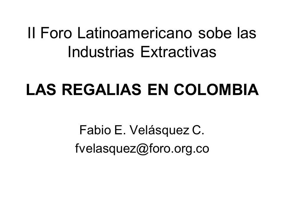 Fabio E. Velásquez C. fvelasquez@foro.org.co