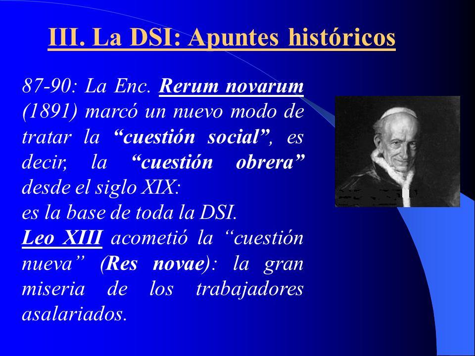 III. La DSI: Apuntes históricos