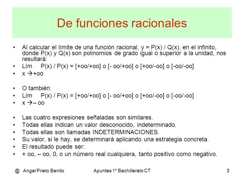 De funciones racionales