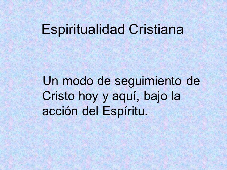 Espiritualidad Cristiana