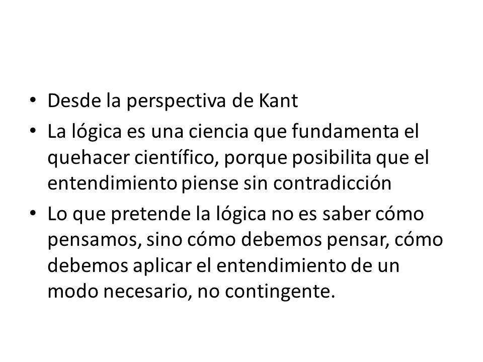 Desde la perspectiva de Kant
