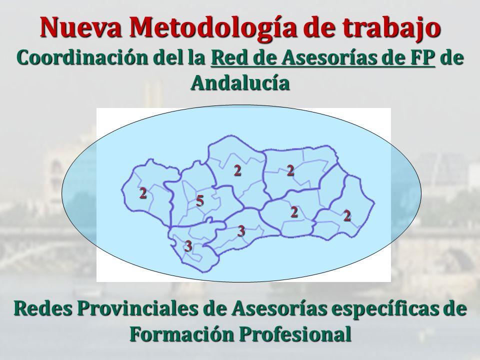 Redes Provinciales de Asesorías específicas de Formación Profesional