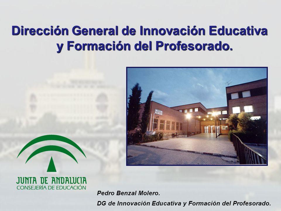 Dirección General de Innovación Educativa y Formación del Profesorado.