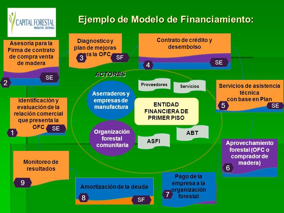 Ejemplo de Modelo de Financiamiento: