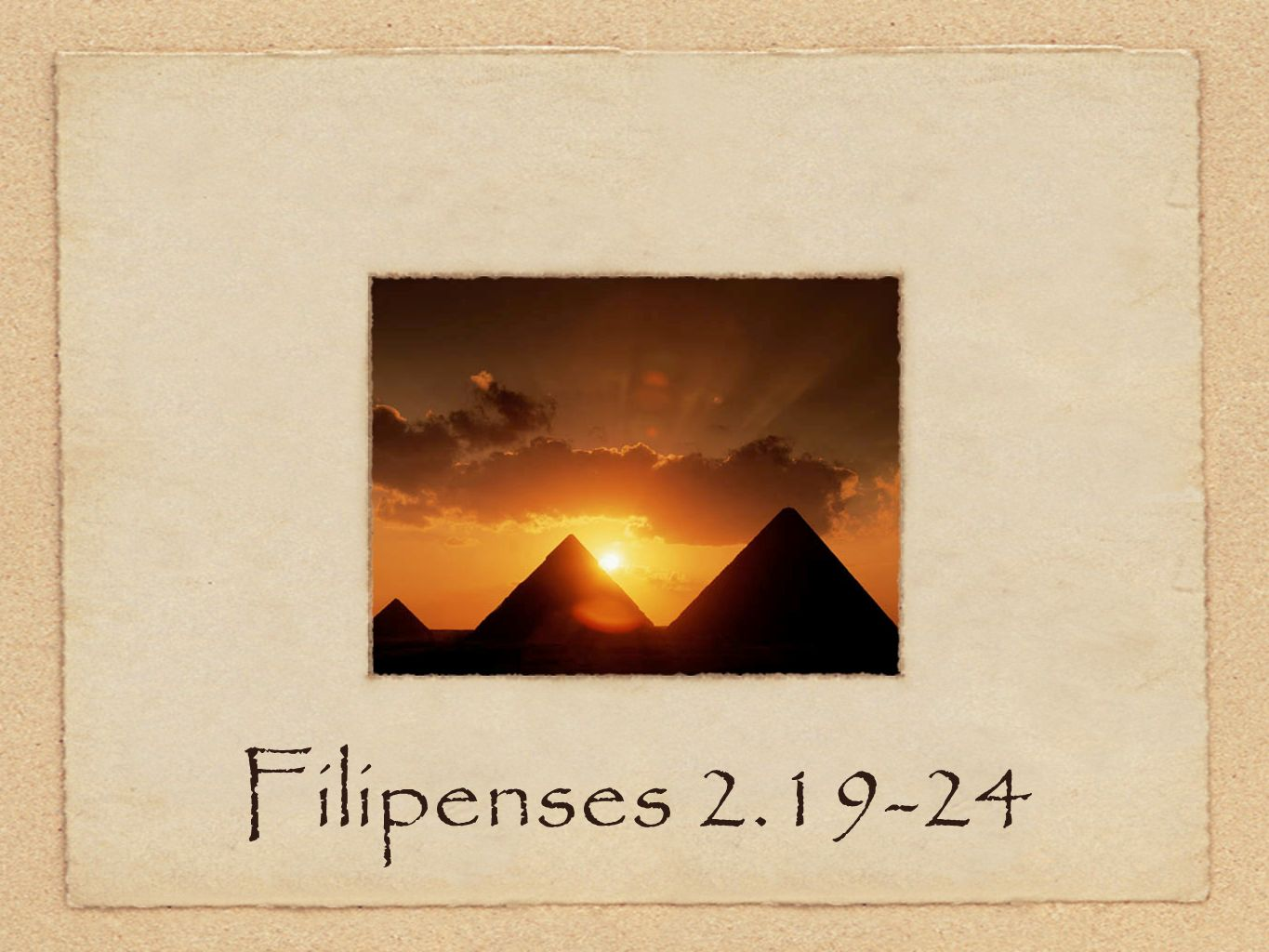Filipenses 2.19-24